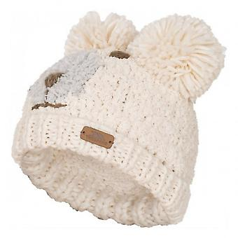 Trespass Childrens/Kids Polar Bear Knitted Hat