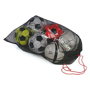 Precision Training Mens Football Ball Carry Bag Sack (10 Ball)