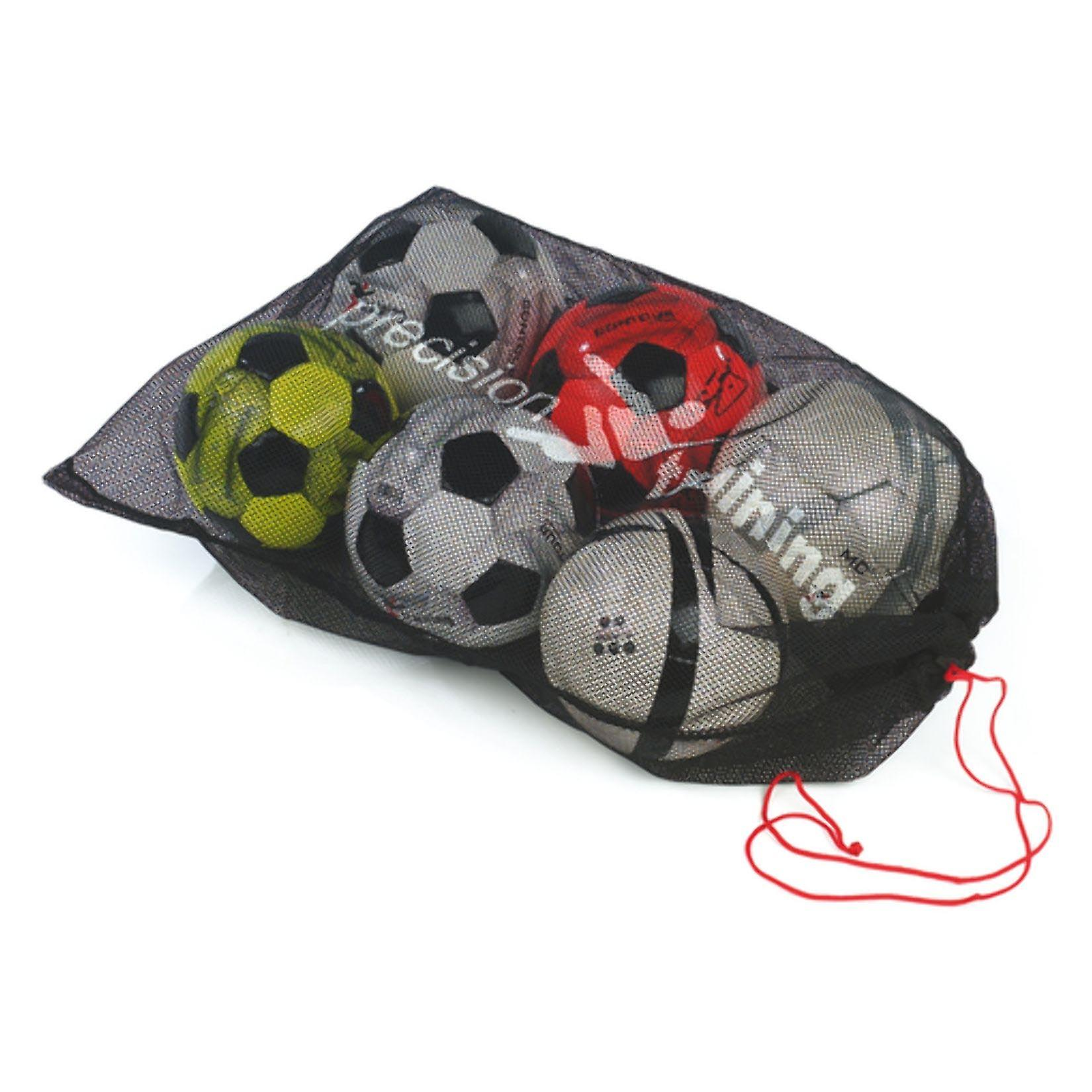 Precision Training Mens Football Ball Carry Bag Sack (10 Ball)