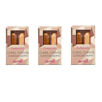 Barry M 3 X Barry M Chisel Cheeks Contour Creams Contour/Highlight