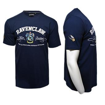 Lizenzierte unisex Applikation Stickerei Ravenclaw™-t-Shirt harry Potter™