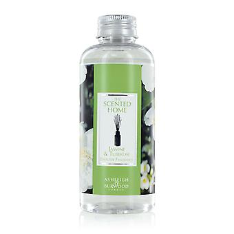 Ashleigh & Burwood Duft nach Hause Reed Diffusor Refill Flasche 150ml Home Duft Jasmin & Tuberose