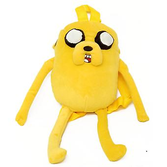 Plush Backpack - Adventure Time - Jake New Soft Doll Toys Gifts 624071