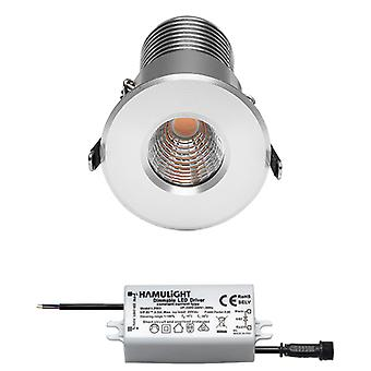 Citizen LED EinbauStrahler | Warmweiß | 7 Watt | Dimmbar