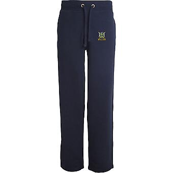 Royal Scots Dragoon Guards - Licensed British Army Embroidered Open Hem Sweatpants / Jogging Bottoms
