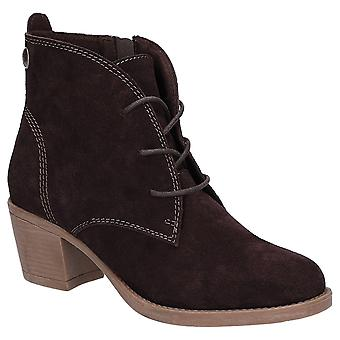 Hush Puppies Womens Moscow Laced Heel Boot