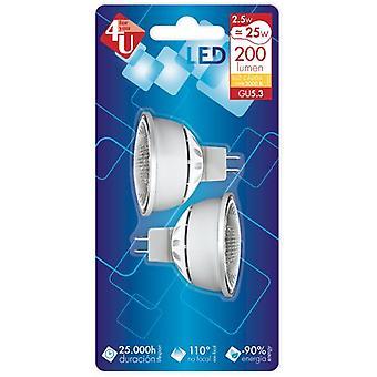 Garza Led 4U SMD G5.3 双包 2.5W 120 200Lm (照明, 灯泡)