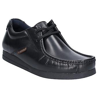 Base London Mens Event Waxy Lace Up Shoe