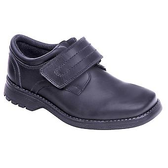 Term Boys Class 2 School Shoes Black