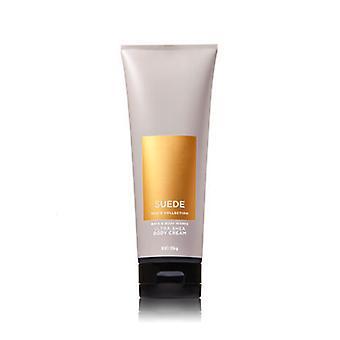 Bath & Body Works Suede Ultra Shea Body Cream 8 oz / 226 g (2 Pack)