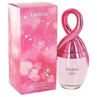 Bebe Love By Bebe Eau De Parfum Spray 3.4 Oz (women) V728-514304