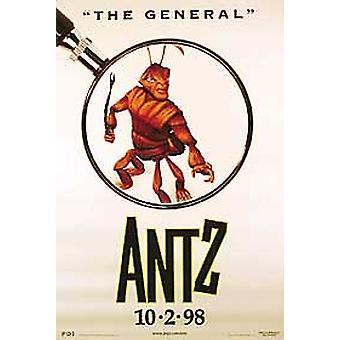 Antz (Estilo de una cara C) Cartel de cine original