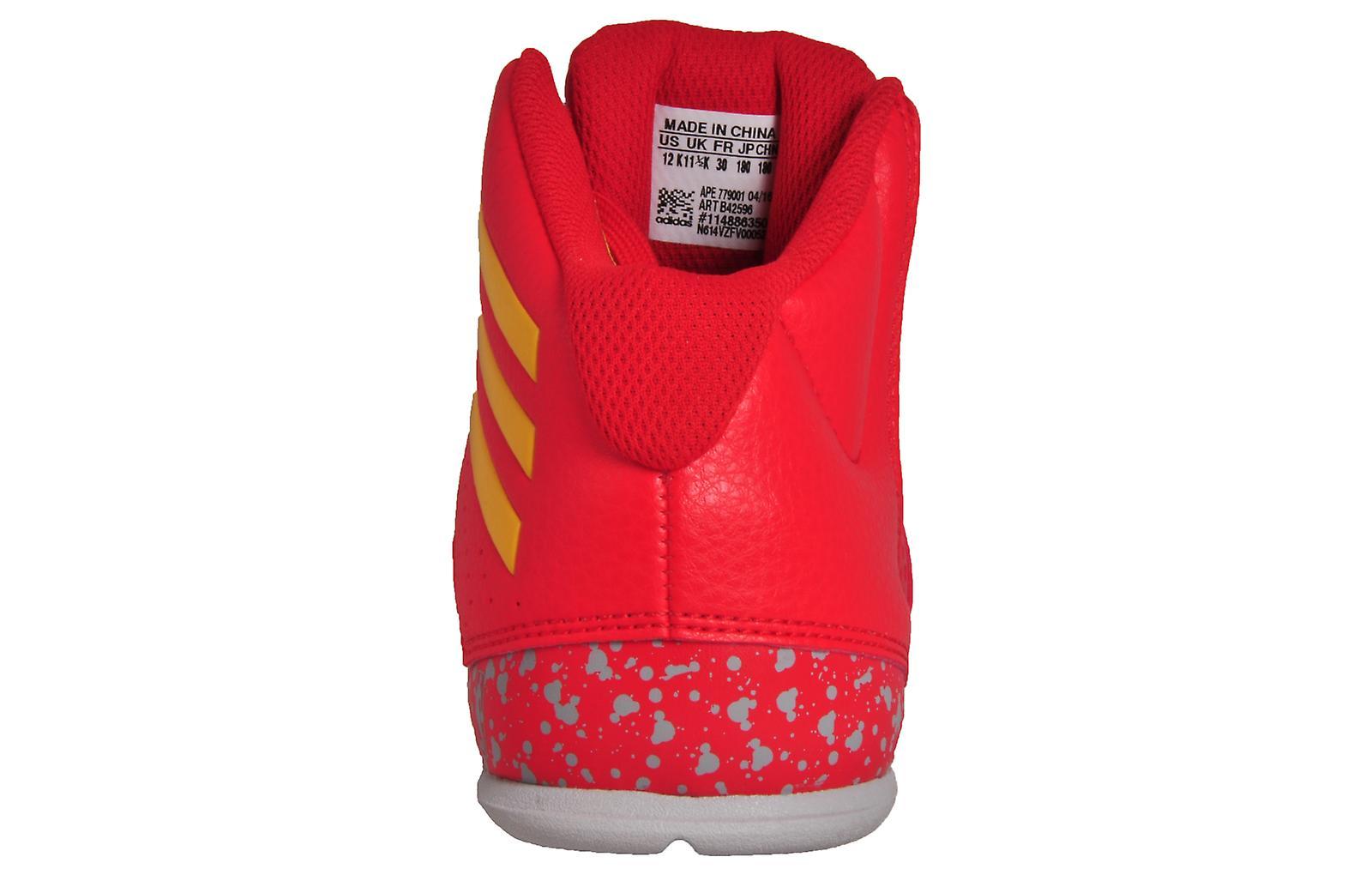 Adidas Next Level Speed 4 NBA Junior Red / Gold / Grey