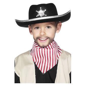 Jongens Sheriff Hat Fancy Dress accessoire