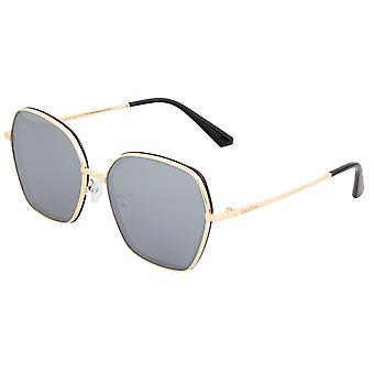 Bertha Emilia óculos polarizados-ouro/prata