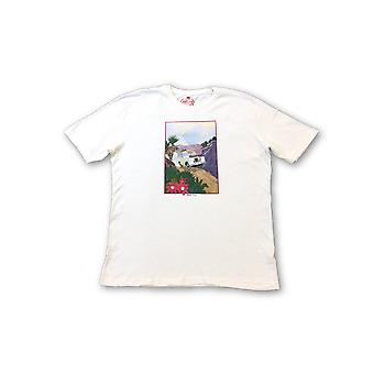 Agave Denim Limited Edition 'Baja Trip' T-shirt in cream
