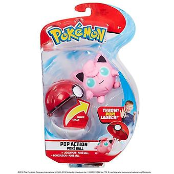 Pokemon pop Action POKE Ball-Jigglypuff