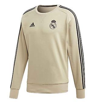 2019-2020 Real Madrid Adidas Sweat Top (Gold)