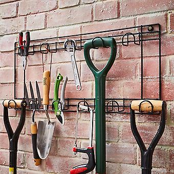 11 Hook Two Tier Tool Holder
