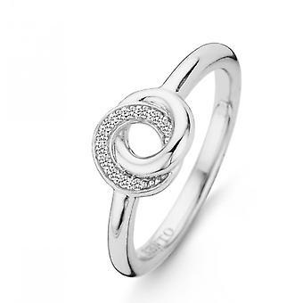 Ring Ti Sento 12142ZI - ring penge s interlaced ringe