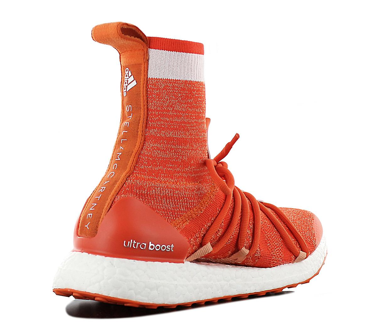 adidas by STELLA MCCARTNEY Ultraboost X Mid CM7736 Women's Shoes Orange Sneakers Sports Shoes