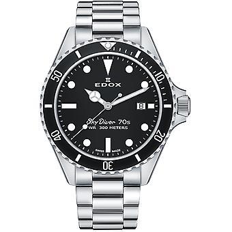 Edox 53017 3NM NI Skydiver Heren Horloge