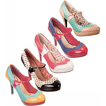 Dancing Days by Banned Polka Dot Mary Jane Heels
