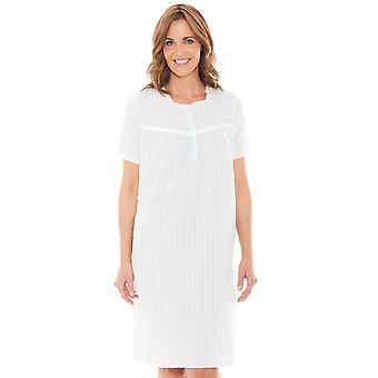 Chums Short Sleeve Lace Trim Nightdress