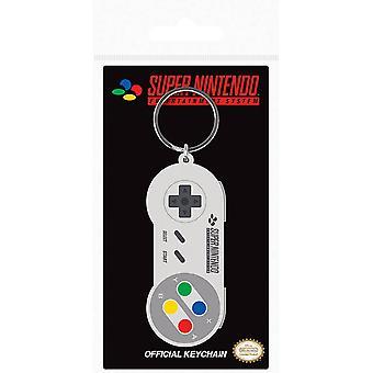 Super Nintendo Controller Gummi Schlüsselanhänger