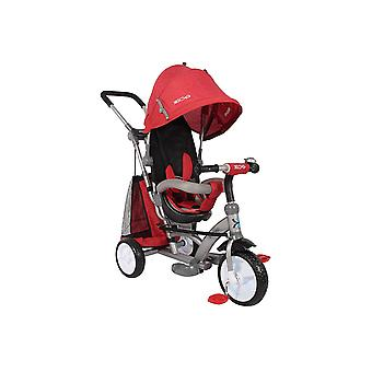 RideonToys4u Easy Steer Pedal Buggy Trike With Reversible Seat Red Ages 18