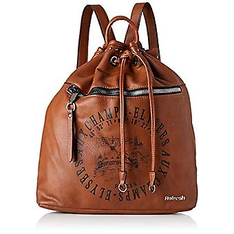 REFRESH 83222 - Brown Woman Handbag (Camel) 33x33x16 cm (W x H L)