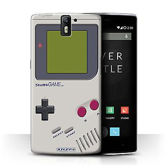 STUFF4 Case/Cover for OnePlus One/Nintendo Game Boy/Games Console