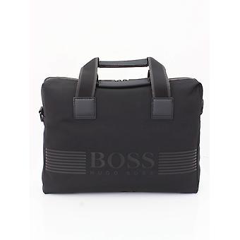 Boss Athleisure Pixel Single Doc Bag - Negru