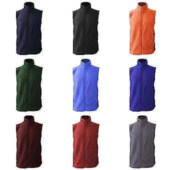 Jerzees Colour Fleece Gilet Jacket / Bodywarmer