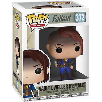 Funko Fallout Vault Dweller Female Pop! Figura de vinil colecionável #372