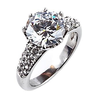 Ah! Jewellery Temptingly Gorgeous Lab Created Diamond Ring.