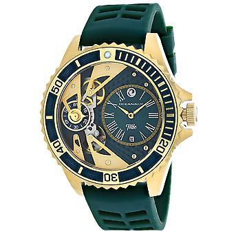 Oceanaut Men-apos;s Tide Green Dial Watch - OC0995