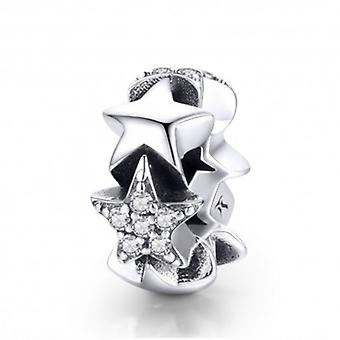 Sterling Silver Spacer Little Star - 5908