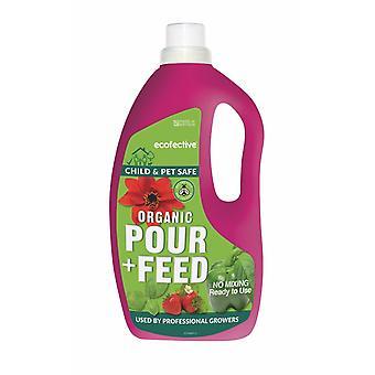 Organické pour & krmivo RTU 1.5 L Ecofective