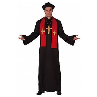 Mannen kostuums priester kostuum