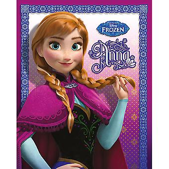 Frozen Frost Anna Mini Poster