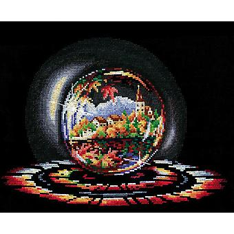 Andriana Cross Stitch Kit -  Spheres of Desire - Autumn Dream