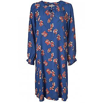 Masai Clothing Noga Blue Floral Dress