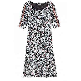 ساندويتش الملابس Anthracite منقوشة جيرسي اللباس