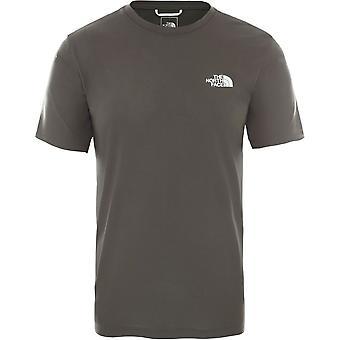 ノースフェイストレインNロゴT94CFG21Lトレーニング一年中男性Tシャツ