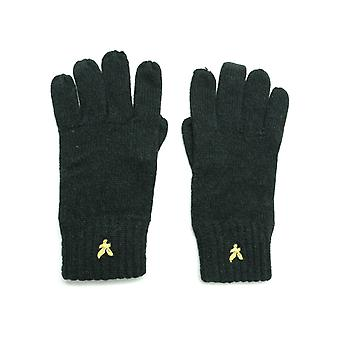 Lyle & Scott Mouline Black Gloves