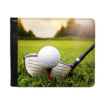 Golf Plånbok Med Myntfack