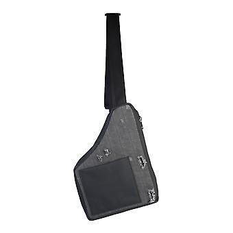 Diesel Acwbg02cbd2087 Hombres's bolsa de mensajero de algodón negro