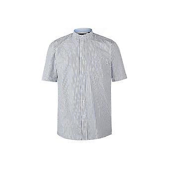 بيير كاردين البنغال شريط قصير الأكمام قميص رجال