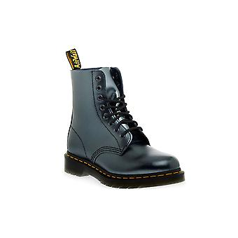 Dr martens pascal chroma silver boots / boots